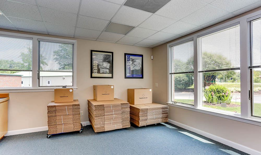 Moving Supplies At Self Storage In Chesapeake Virginia