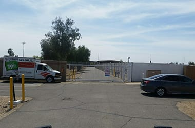 Gated and secure storage in Goodyear, AZ