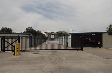 Secure storage available in Houston, TX