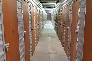 Indoor storage available at Inwood Storage