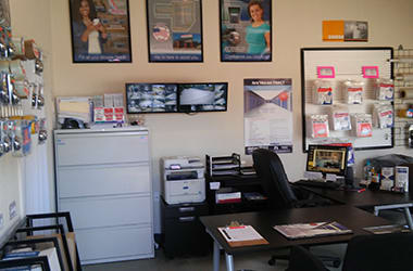 Come see us in the office at Kleinwood Storage for a tour