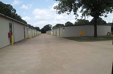 Outdoor storage available in Tyler, TX