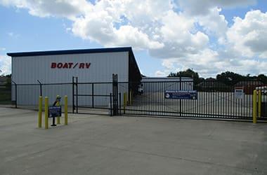 Boat, RV, and auto storage in Orange, TX