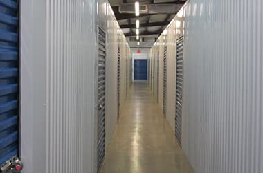 Indoor storage available at Storage Depot