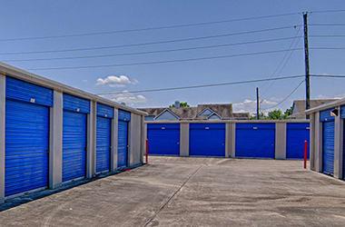 Outdoor storage available at Allen Mini Storage