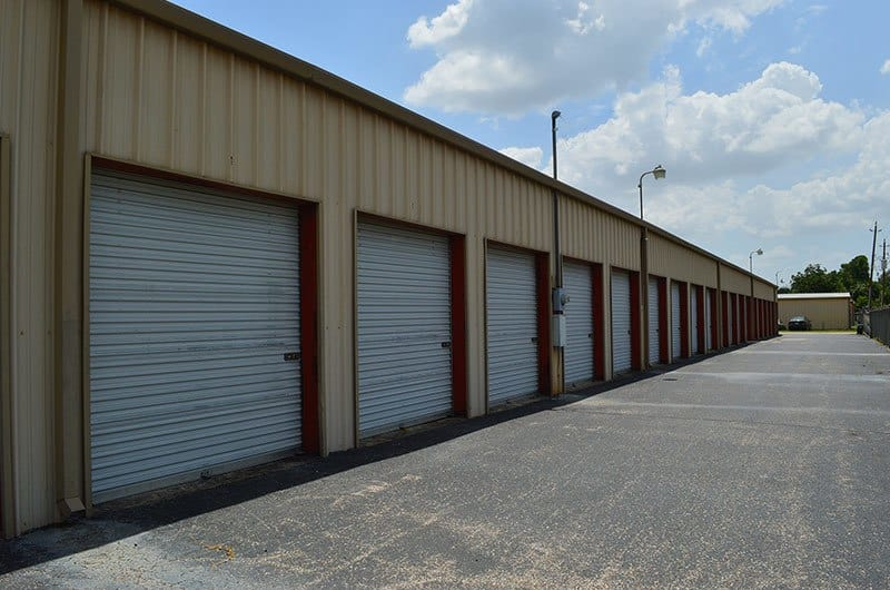 Drive-up Access available at Perry Road Storage