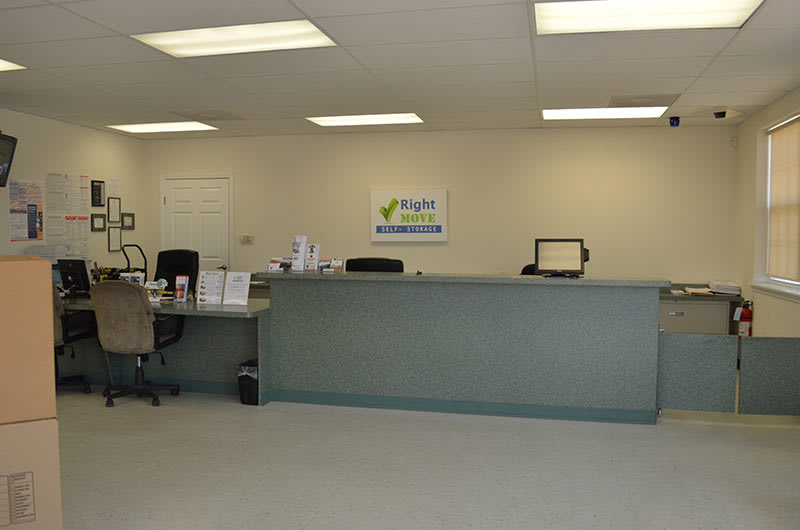 Office at Right Move Storage