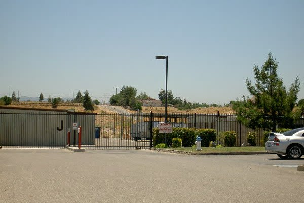 Outdoor storage available at Bear Valley RV and Self Storage