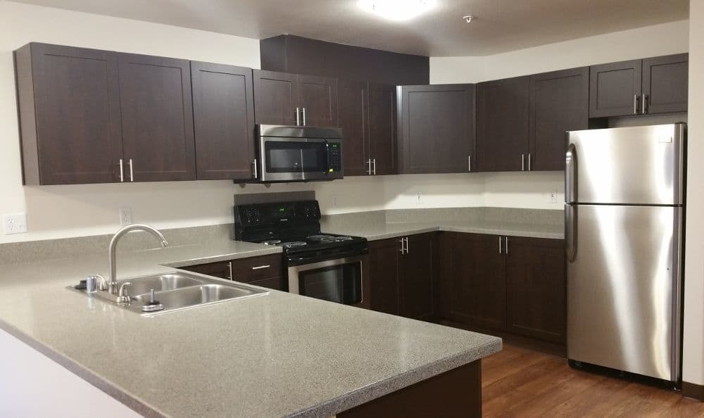 Kitchen at The Addison Apartments