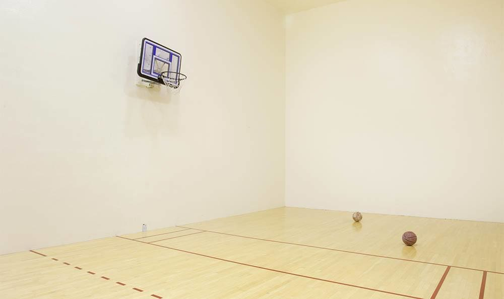 Indoor Basketball Court At Autumn Chase Apartments