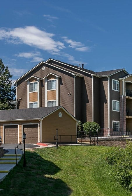 Enjoy the neighborhood at The Crossings at Bear Creek Apartments in Lakewood