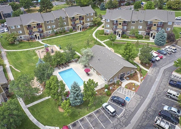 Enjoy the neighborhood at Crossroads at City Center Apartments in Aurora