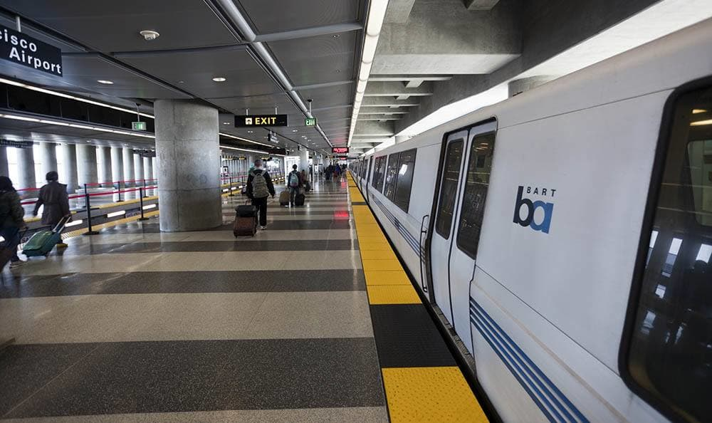 Bart is close to Metro Six55 Apartments