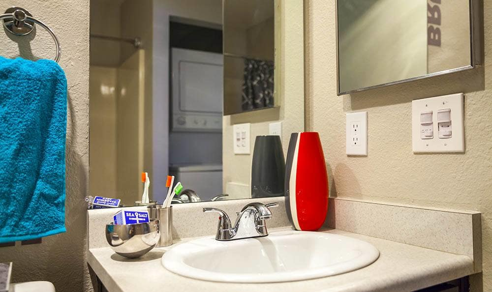 Bathroom at Metro Six55 Apartments