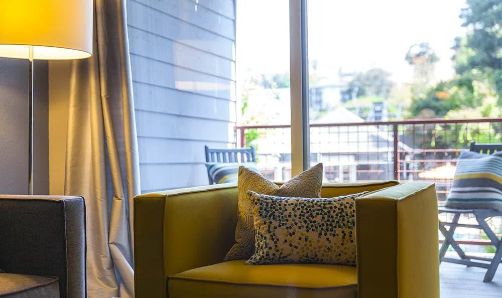 Living Room at Metro Six55 Apartments