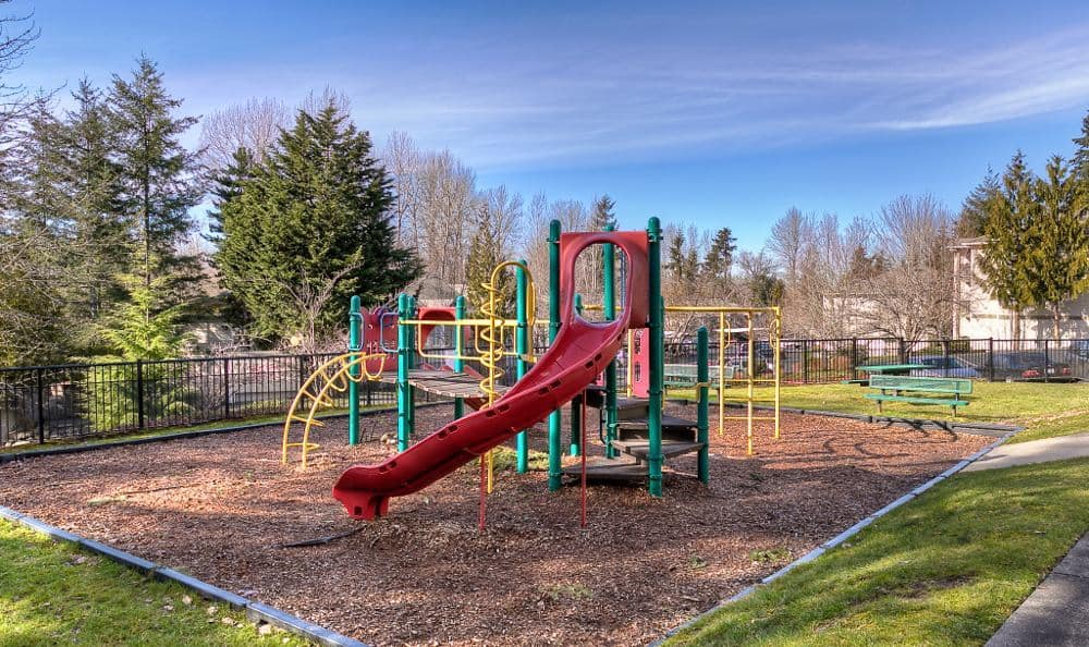 Playground at Pebble Cove Apartments in Renton