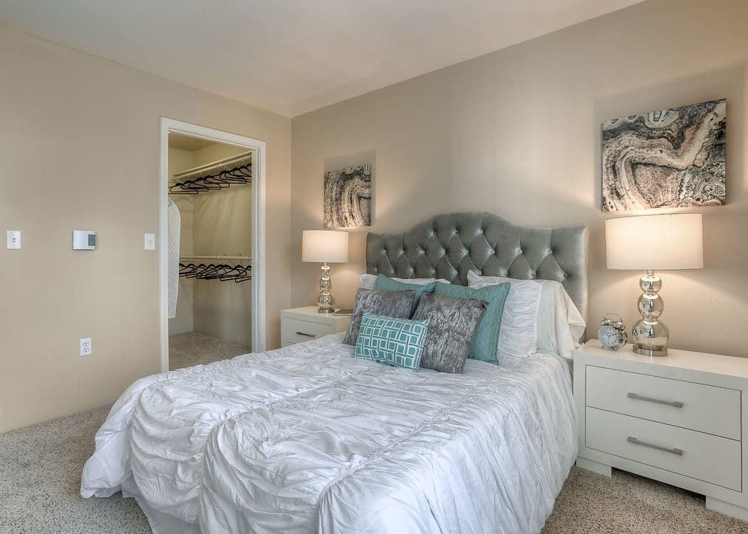 Bedroom at Pebble Cove Apartments in Renton