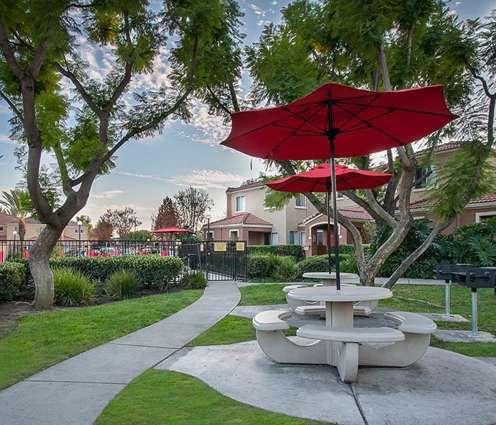 Enjoy the neighborhood at Tuscany Village Apartments in Ontario