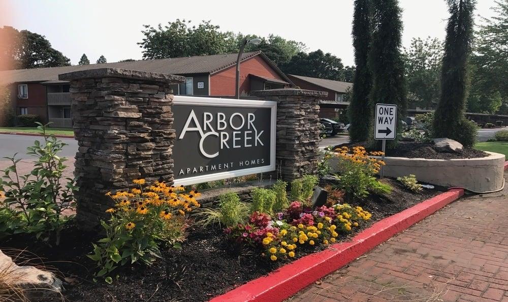 Signage At Arbor Creek Apartments