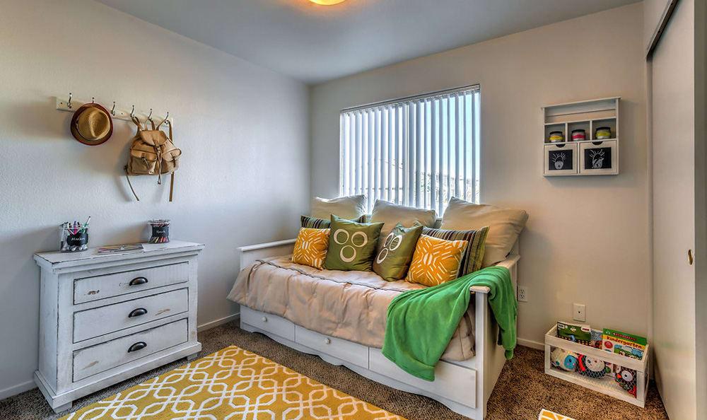 Guest room at Portola Del Sol in Las Vegas