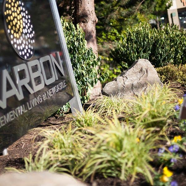 Enjoy the neighborhood at Karbon Apartments in Newcastle
