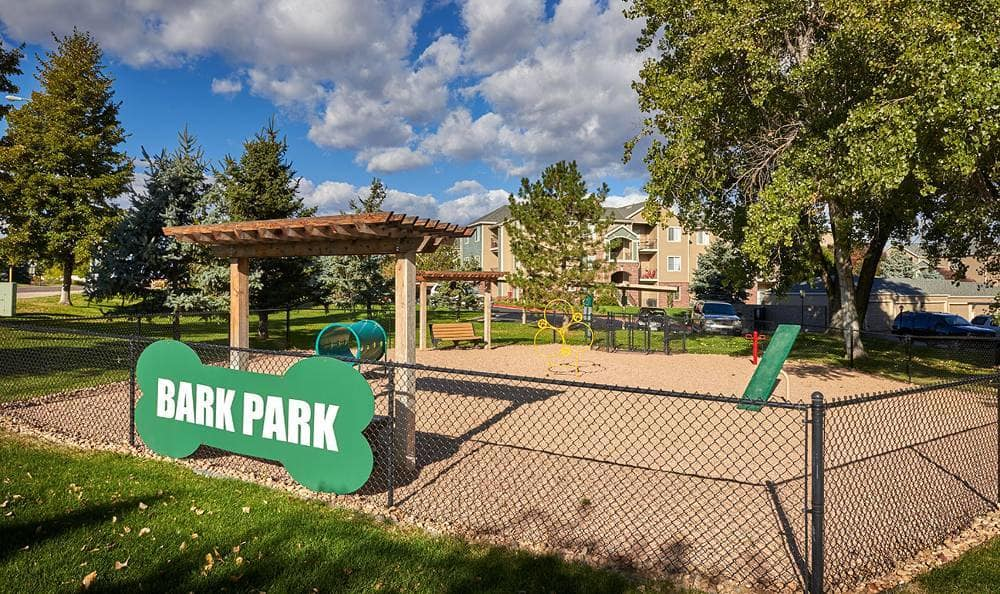 Bark Park at Promenade at Hunter's Glen Apartments