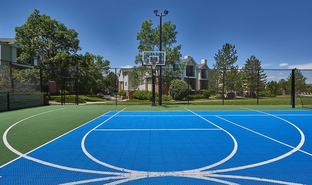 basketball court at Villas at Homestead Apartments