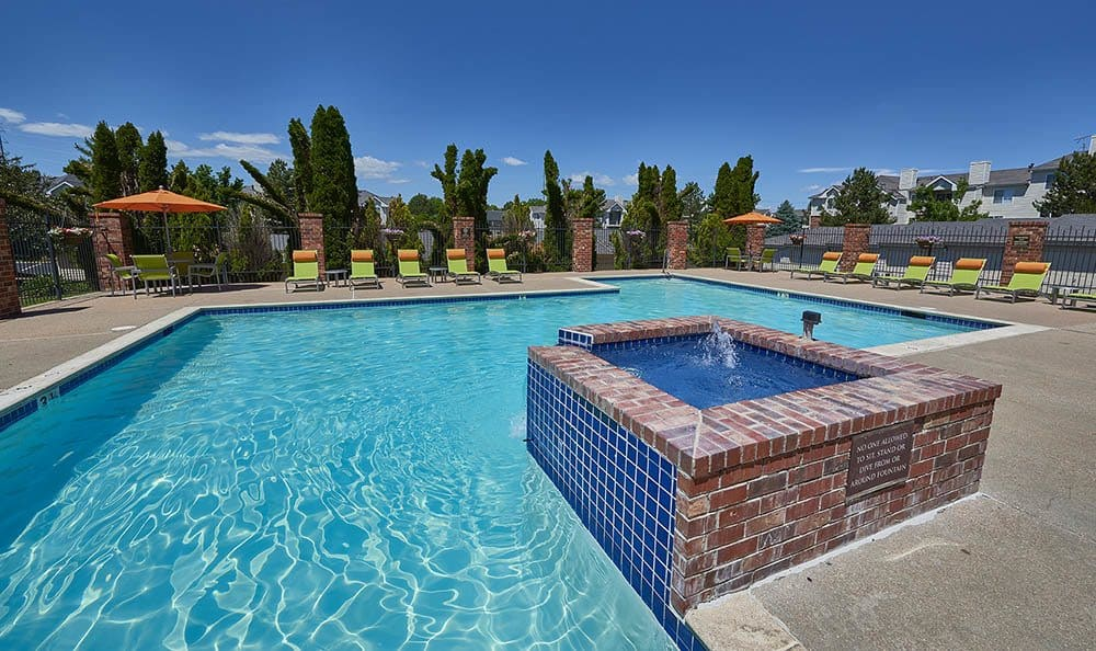 pool at Villas at Homestead Apartments