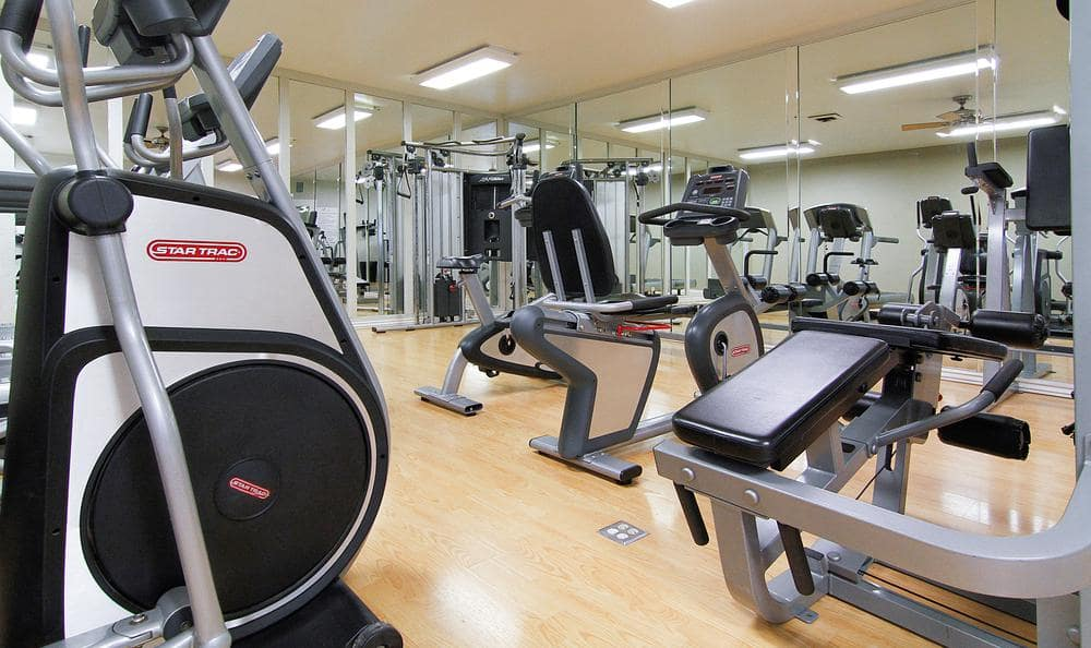 Gym at Springs of Country Woods Apartments