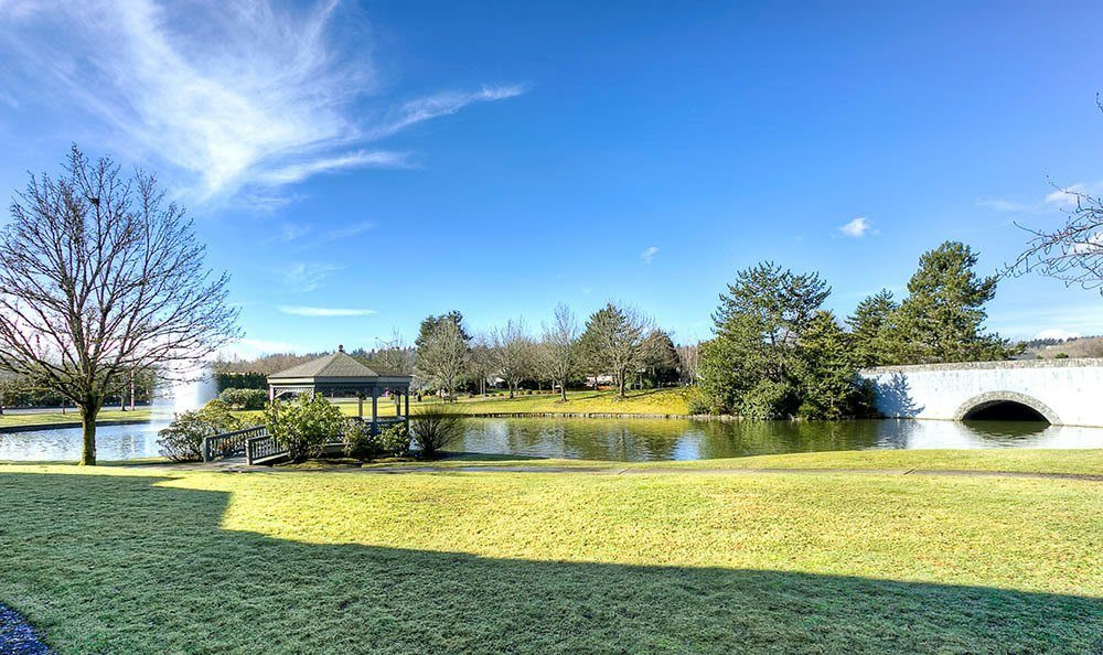 photo of the Pond at Waters Edge Apartments