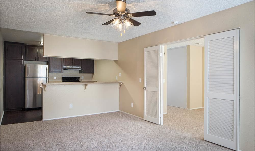 Empty Apartment Floor Plan At Hillside Terrace Apartments