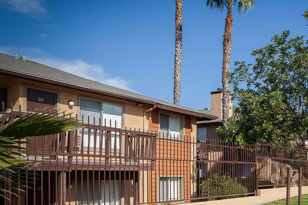 Exterior view of Hillside Terrace Apartments in Lemon Grove