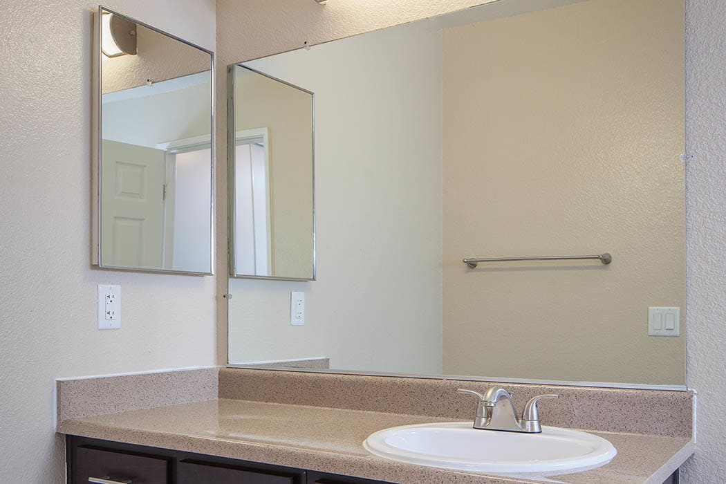 Restroom at Hillside Terrace Apartments in Lemon Grove
