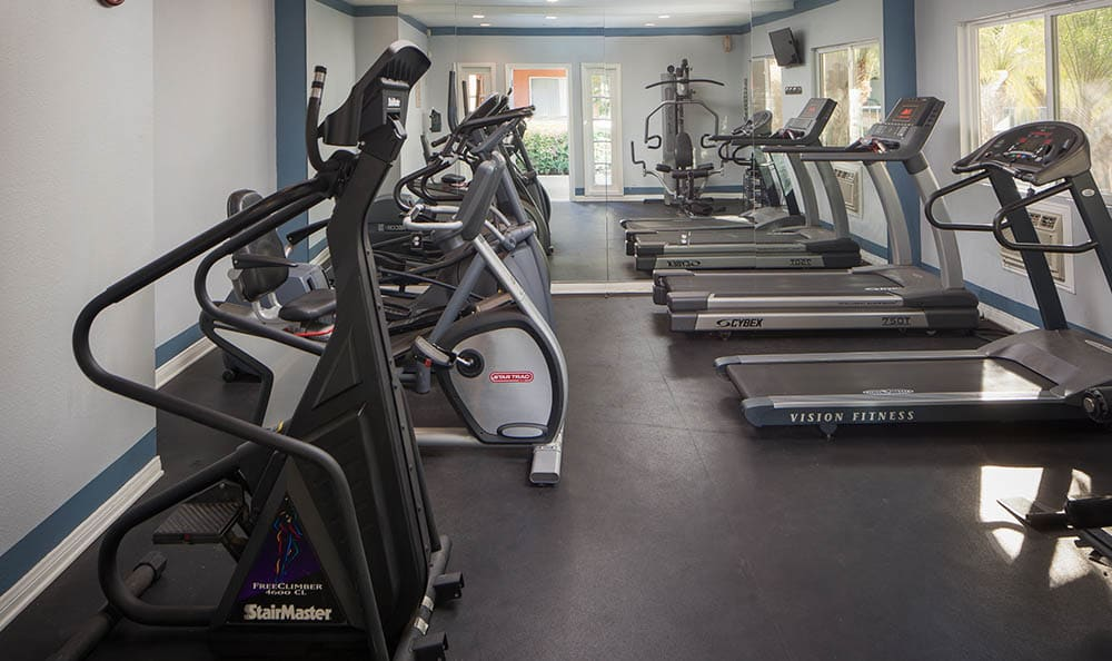 Fitness Center At Kendallwood Apartments