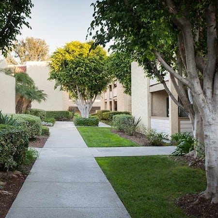 Enjoy the neighborhood at Kendallwood Apartments in Whittier