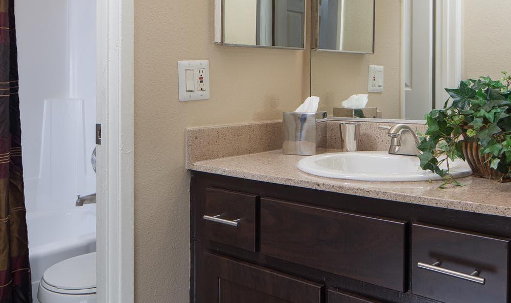 Bath Room at Shadow Ridge Apartments in Oceanside, CA