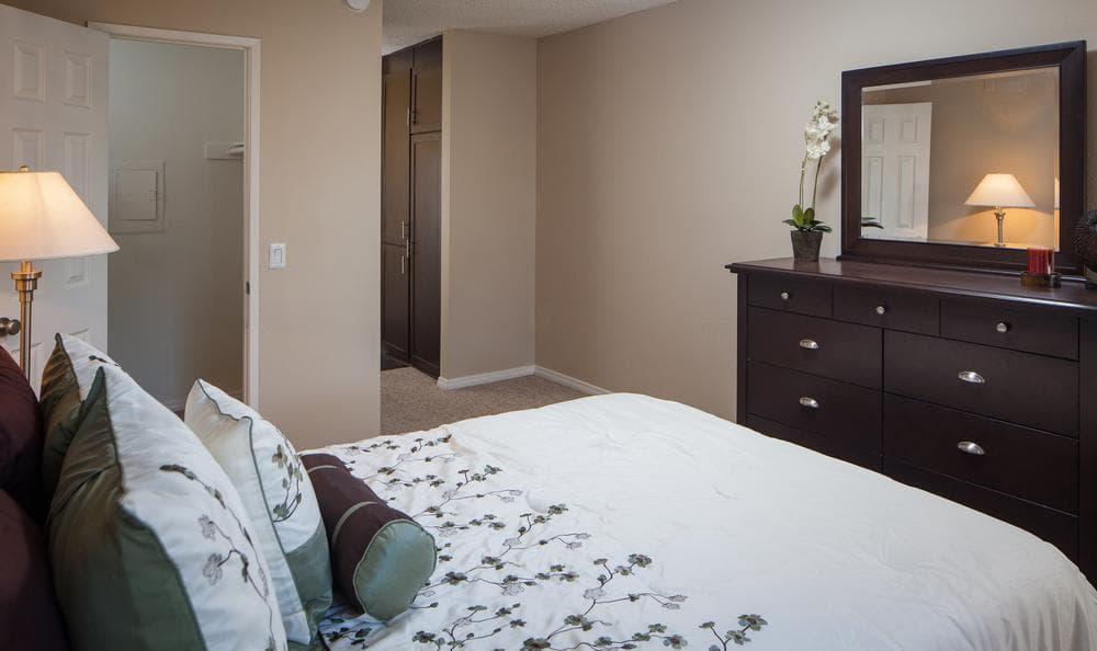 Bedroom at Shadow Ridge Apartments in Oceanside, CA