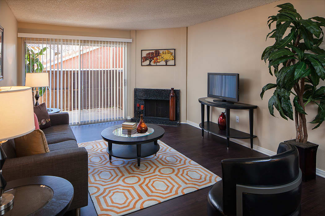 Living Room at Shadow Ridge Apartments in Oceanside
