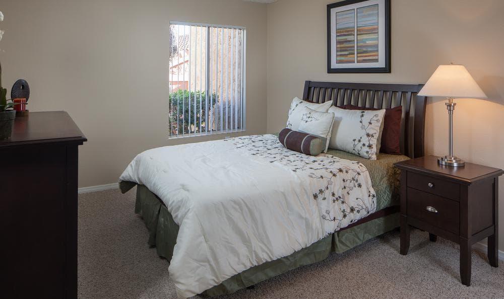 Spacious Bedroom at Shadow Ridge Apartments in Oceanside, CA