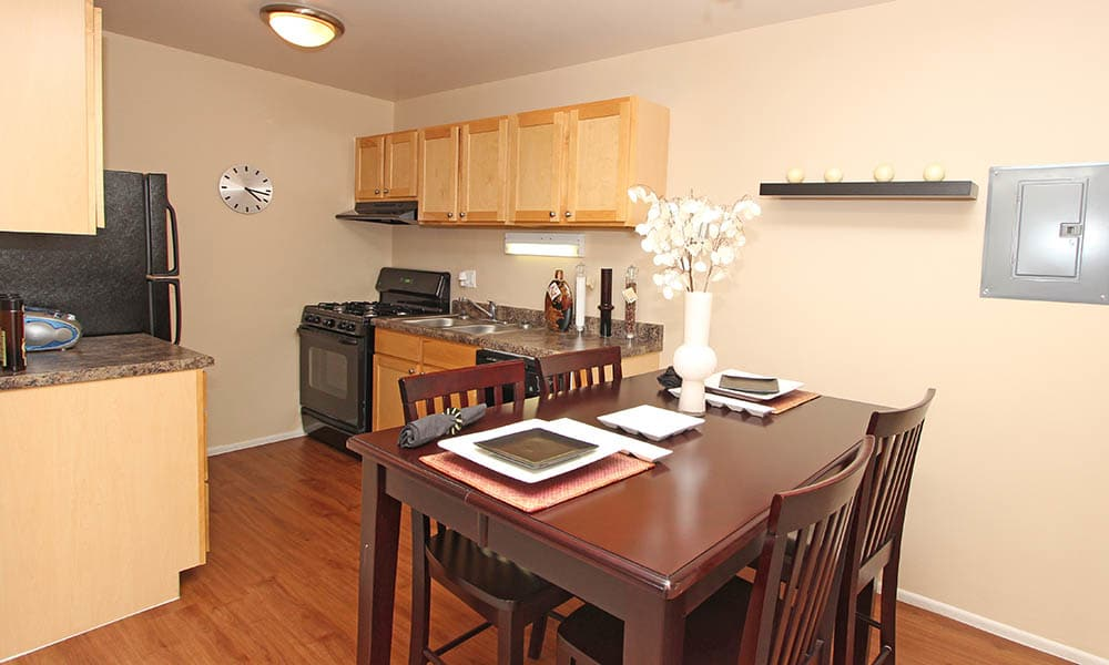 Apartments With Hardwood Floors At Riverstone Apartments In Bolingbrook IL