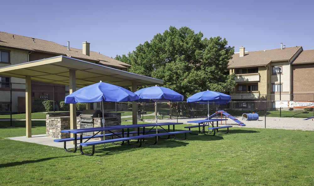 BBQ at Shadowbrook Apartments in West Valley City, UT