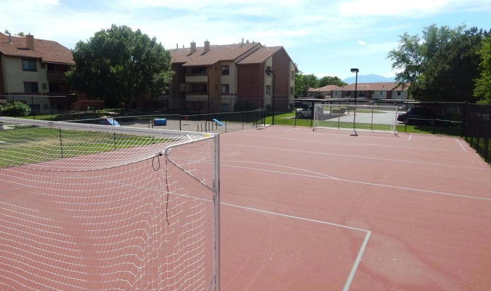 Basketball Soccer Court at Shadowbrook Apartments in West Valley City, UT