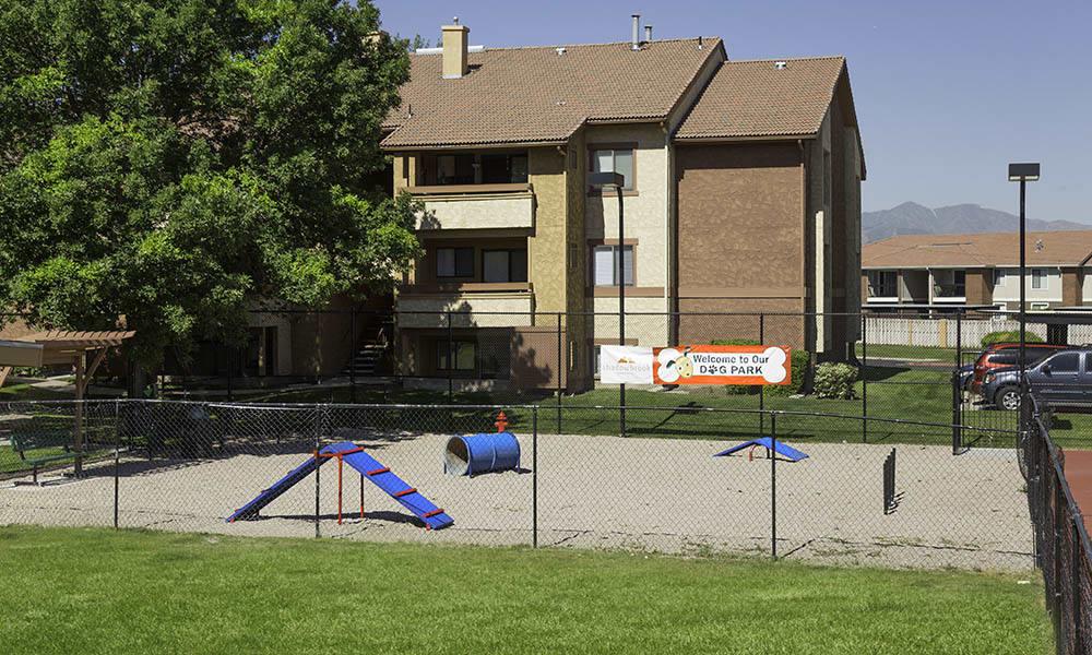 Bark park at Shadowbrook Apartments
