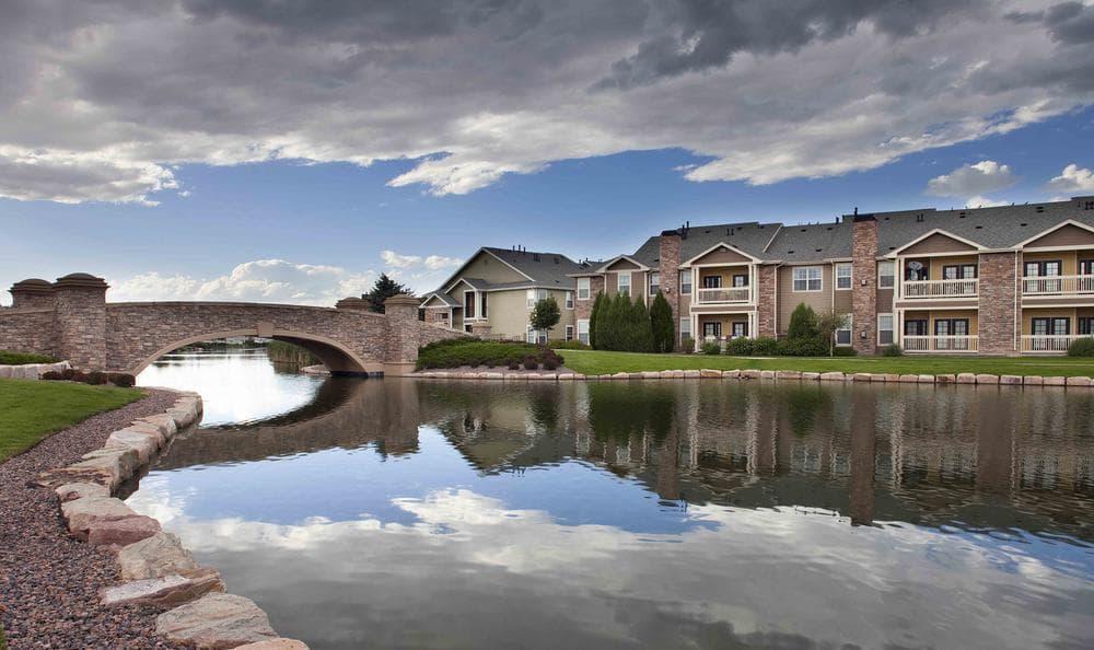 Bridge Exterior View at Gateway Park Apartments in Denver, CO