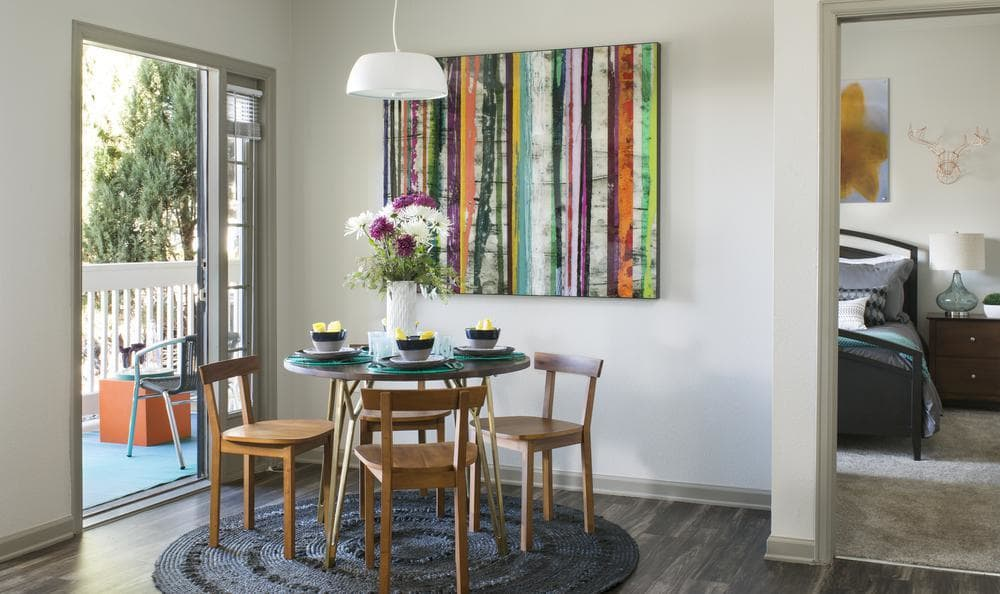 Dining room at Gateway Park Apartments