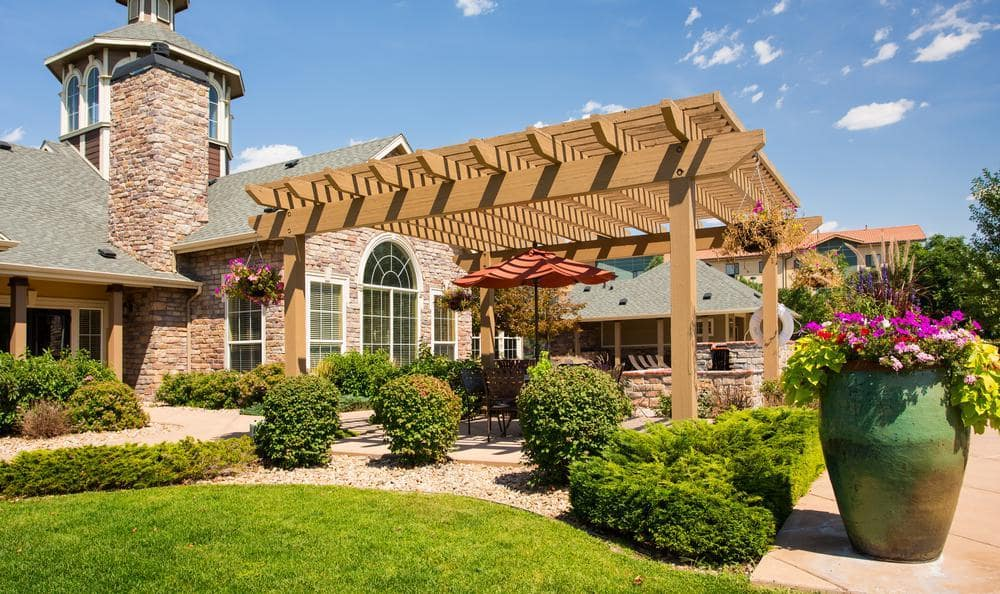 Exterior Gazebo at Gateway Park Apartments in Denver, CO