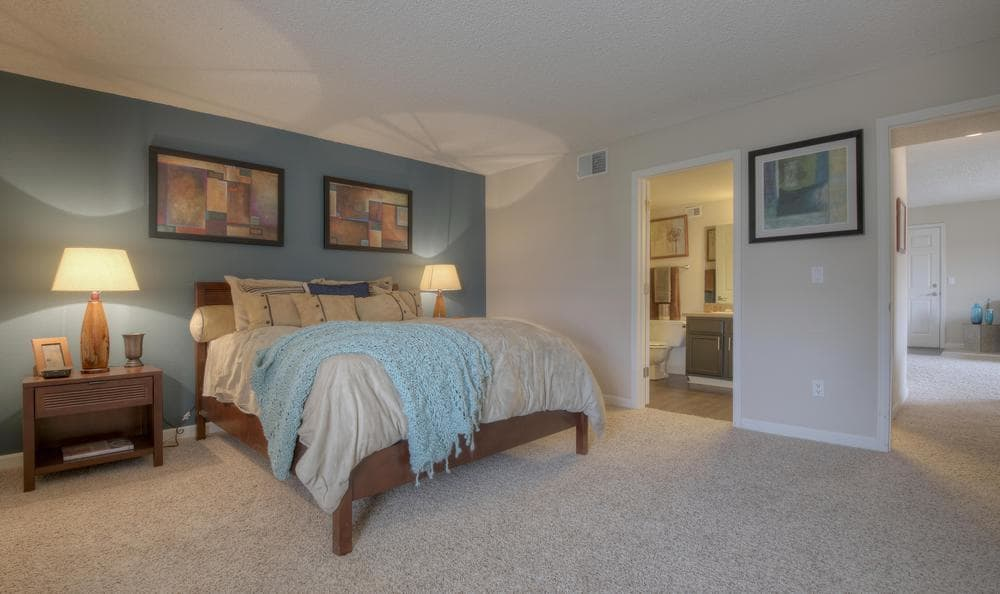 Master Bedroom at Silver Reef Apartments in Lakewood, CO