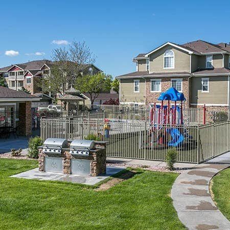 Refreshing swimming pool at Westridge Apartments in Aurora