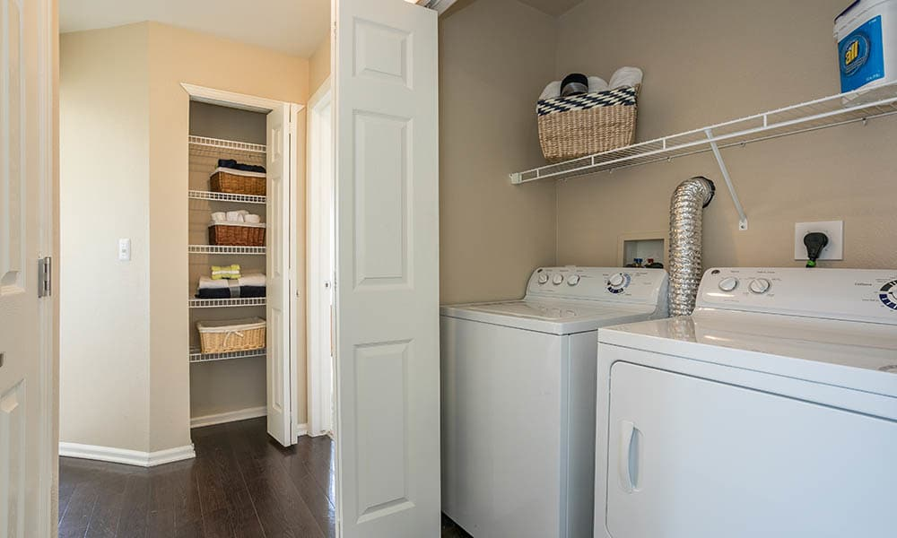 Laundry Room at Westridge Apartments in Aurora, CO