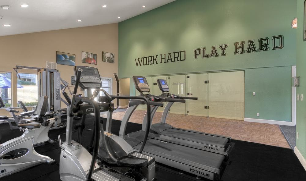 Exercise Facility at Park South Apartments in Seattle, WA